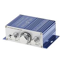 12V Hifi Stereo Âm Thanh Loa Máy Tính MP3 Đầu Vào Xe Nhà