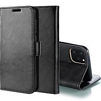 Bao da dành cho Iphone 11 - 6.1 inch kiêm ví tiền đựng thẻ, card, bảo vệ màn hình cầm tay siêu tiện lợi