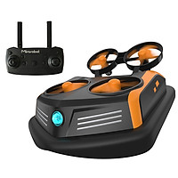Mirarobot Domain S200 Mini Drone Remote Control Boats Car 600TVL FPV 3-in-1 Sea-Land-Air Mode Switchable Waterproof