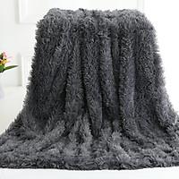 Chăn dài lông vũ siêu mềm ,xù nhẹ sang trọng cho đi văng ghế sô pha