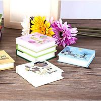 COMBO 3 Sổ tay dễ thương bìa cứng mini (ruột 80 trang trắng)