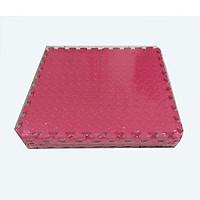 Bộ 4 tấm thảm xốp ghép, màu đỏ, chống trượt, kích thước 1 tấm: 60cm x 60cm, dày 1cm( Hàng Việt Nam)