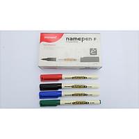 Combo hộp 12 cây bút dạ kính Namepen_F thương hiệu Monami