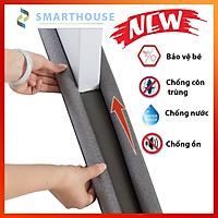 Đệm lót cửa thông minh chống ồn, chống côn trùng, bảo vệ bé khỏi va chạm