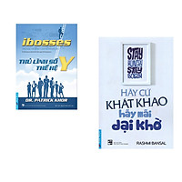 Combo 2 cuốn sách: Ibosses - Thủ Lĩnh Số Thế Hệ Y + Hãy Cứ Khát Khao - Hãy Mãi Dại Khờ