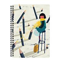 Sổ Tay Lò Xo Station Pencil - Monosketch