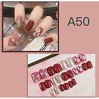 Bộ 24 móng tay giả nail thơi trang như hình (A50)