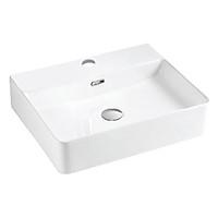 Chậu lavabo rửa mặt đặt trên bàn BSA-5065 sản phẩm chỉ gồm phần sứ (vòi gắn trên thành lavabo)