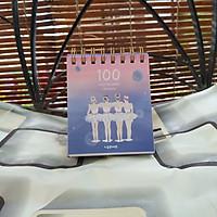 Sổ Kế Hoạch Lò Xo 100 Ngày - 100 Days Daily Planner Notebooks - 4 Cô Gái (10.6 x 12.4 cm)