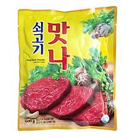 Gói 500g Hạt Nêm Gia Vị Thịt Bò Daesang Hàn Quốc ( Matna Bò)