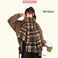Khăn choàng len khăn quàng cổ mùa đông - Mã LE45