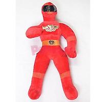 Gấu bông Siêu nhân đỏ Power Rangers S.P.D Pipobun size 60cm - P180160017003105