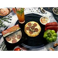 Piza Xúc Xích Pepperoni 15cm - Cao Cấp