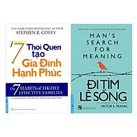 Combo 7 Thói Quen Tạo Gia Đình Hạnh Phúc (Tái Bản) + Đi Tìm Lẽ Sống (2 cuốn) ( Tái Bản )
