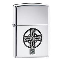 Bật Lửa Zippo 20850 Celtic Cross High Polish Chrome