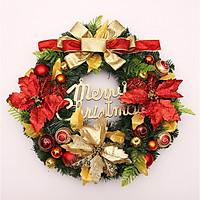 Vòng hoa Giáng Sinh Christmas Peacock Wreath Door 60CM