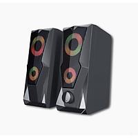 Loa Vi Tính 2.0 Bosston Z200-Led RGB - Hàng Chính Hãng