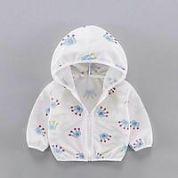 Áo khoác cotton lưới chống nắng bé trai và bé gái