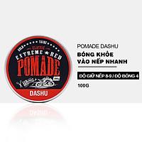 Pomade tạo kiểu tóc DASHU Extreme Red 100g sáp vuốt tóc nam Giữ nếp tốt phù hợp cho tóc xoăn JN-PM03