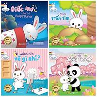 Combo Phát Triển Trí Thông Minh Cùng Thỏ Hoppy Bunny (Bộ 4 Cuốn)
