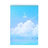 Sổ Lò Xo Fantasy Dream Morning Glory 83157 - Mẫu 3 - Xanh Biển