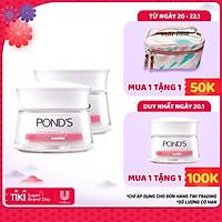 Combo 2 Kem Sữa Dưỡng Trắng Nâng Tông Pond'S White Beauty 50g