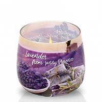 Ly nến thơm Bartek Candles BAT6533 Lavender Fields 100g (Hương oải hương, giao mẫu ngẫu nhiên)
