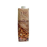 Sữa hạt hạnh nhân 137 degrees Real almond milk vị truyền thống (1l)