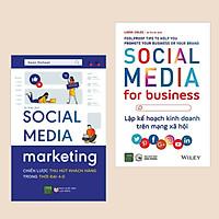 Combo Sách Kinh Tế: Social Media Marketing - Chiến Lược Thu Hút Khách Hàng Trong Thời Đại 4.0 + Lập Kế Hoạch Kinh Doanh Trên Mạng Xã Hội (Bí quyết thu hút khách hàng thời đại công nghệ số)