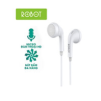 Tai Nghe Nhét Tai Có Dây - ROBOT RE601 - Hàng Chí Hãng