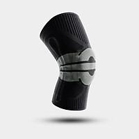 D.O.T Nẹp hỗ trợ đầu gối thể thao Nẹp bảo vệ xương bánh chè Khớp gối dệt kim silicone lò xo cho bóng rổ Miếng đệm đầu gối