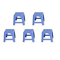 Combo 5 Ghế Nhựa Lùn Kiểu Học Sinh  - Sản Xuất từ 100% Nhựa Chính Phẩm