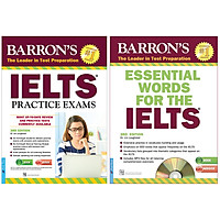 Combo : Ngoại Ngữ IELTS (2 Cuốn) : Barron'S_IELTS Practice Exams 3rd Edition (Tặng Kèm CD) + Essential Words For The IELTS 3rd Edition (Tặng Kèm 1CD)