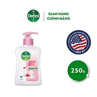 Nước rửa tay Dettol kháng khuẩn dưỡng da - Chai 250g