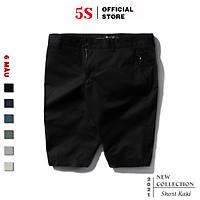 Quần Short Kaki Nam 5S (6 màu) Chất Liệu Cotton Cực Mát, Thấm Hút Mồ Hôi, Kiểu Dáng Trẻ Trung, Năng Động (QSK21002)