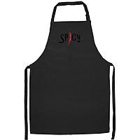 Tạp Dề Làm Bếp In Hình Spicy Hottie funny