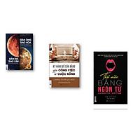 Combo Kỹ Năng Để Cân Băng Giữa Công Việc Và Cuộc Sống + Đàn Ông Sao Hỏa Đàn Bà Sao Kim + Thôi Miên Bằng Ngôn Từ  ( Tặng Kèm Bút Chì Dễ Thương )