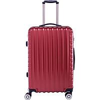 Vali kéo du lịch 840 nhựa ABS chịu lực tốt - Đỏ