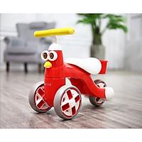 Xe cân bằng chòi chân đáng yêu cho bé -màu đỏ