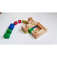 Đồ chơi gỗ xếp hình FX01 - Kim Tự Tháp