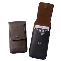 Túi đựng điện thoại SmileBox đeo hông chất liệu da bò nhiều size cho điện thoại