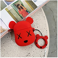 Combo Airpods Case Gấu BearBrick + Dây Đeo