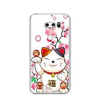 Ốp lưng dẻo cho điện thoại LG V30 - 0442 MEOMAYMAN07 - Hàng Chính Hãng
