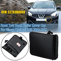 Front Bumper Tow Hook Cover Cap Eye Cover ABS For Nissan Qashqai J10E 622A0BR00H