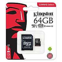 Thẻ Nhớ Micro SD Kingston 64GB SDHC Class 10 Kèm...