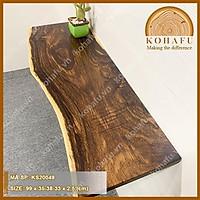 Kệ gỗ me tây nguyên tấm, mặt gỗ me tây  KOHAFU KS20049