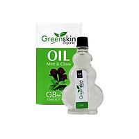 Dầu Gió Thảo Mộc Greenskin Green Herb Oil - Tăng Cường Hệ Miễn Dịch, Trị Ho, Nhứt Đầu, Giảm Căng Thẳng - 12ml - Tom