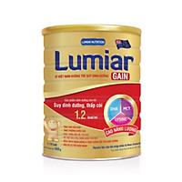 Sữa bột Lumiar Gain 900g - sản phẩm dành cho trẻ suy dinh dưỡng, thấp còi với DHA, MCT, LYSINE cao năng lượng