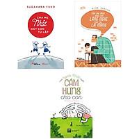 Combo 3 cuốn : CHA MẸ NHẬT DẠY CON TỰ LẬP + CHA MẸ NHẬT DẠY CON LẮNG NGHE HƠN LA MẮNG + CÁCH NGƯỜI NHẬT TRUYỀN CẢM HỨNG CHO CON (tặng kèm bookmark)