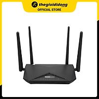 Bộ Phát Sóng Wifi Router Chuẩn AC1200 Băng Tần Kép Totolink A3002RU V2 Đen - Hàng chính hãng